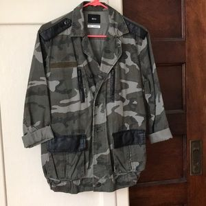 BDG (urban outfitters) army print surplus jacket
